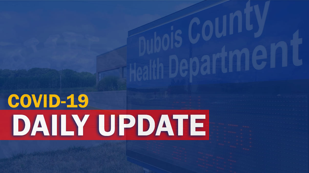 MONDAY: Two New COVID-Related Deaths and 41 New Cases Reported in Dubois County