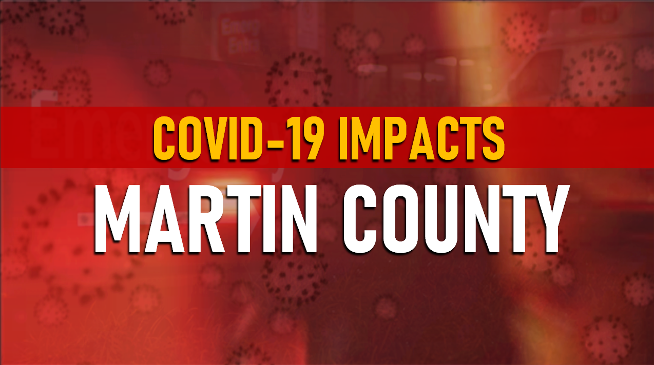 Martin County Courthouse Closed Until Early January Due to COVID-19 Surge