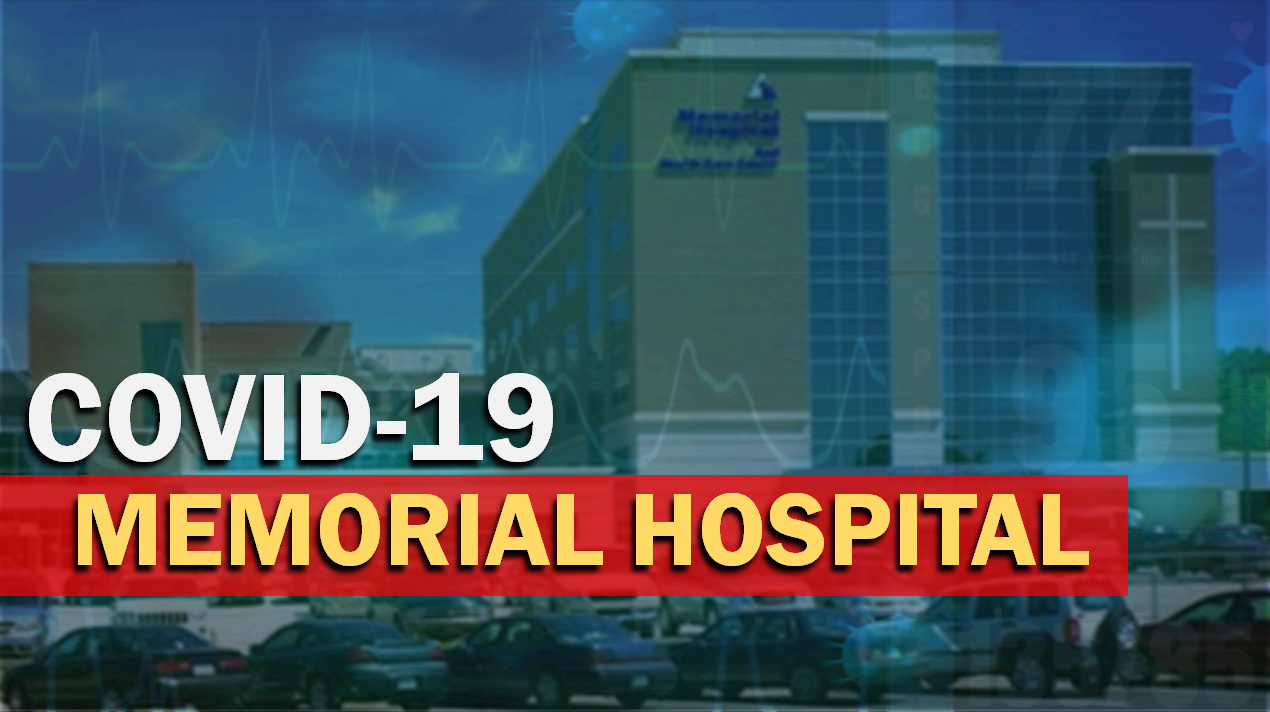 JUST IN:  Healthcare Workers at Memorial Hospital Test Positive For COVID-19