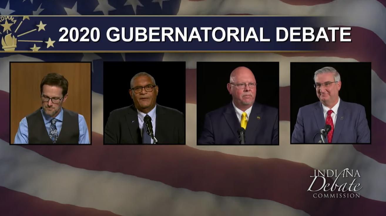 Candidates For Indiana Governor Debated Variety of Issues During Live Event Tuesday Night