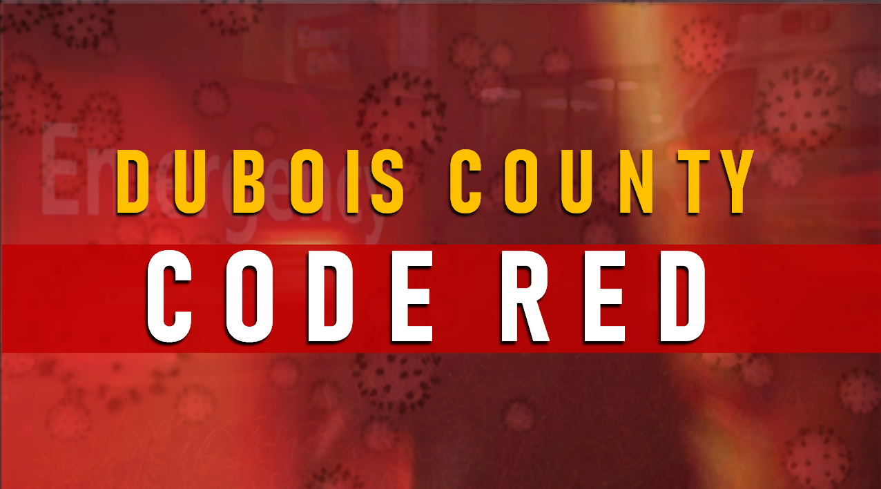 Dubois County Goes to Red as Over 160 New Cases Reported Wednesday, ICU Beds Filling Up