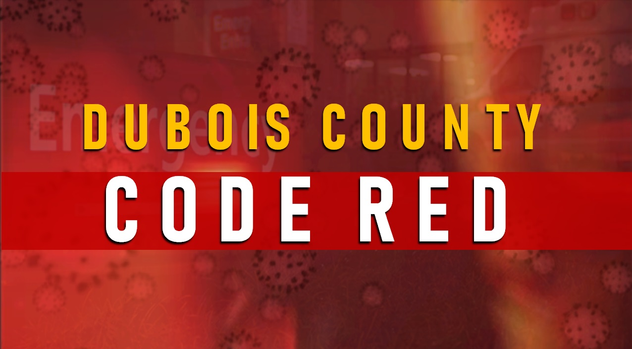 Two New COVID-Related Deaths Reported in Dubois County, Likely Stay at CODE RED