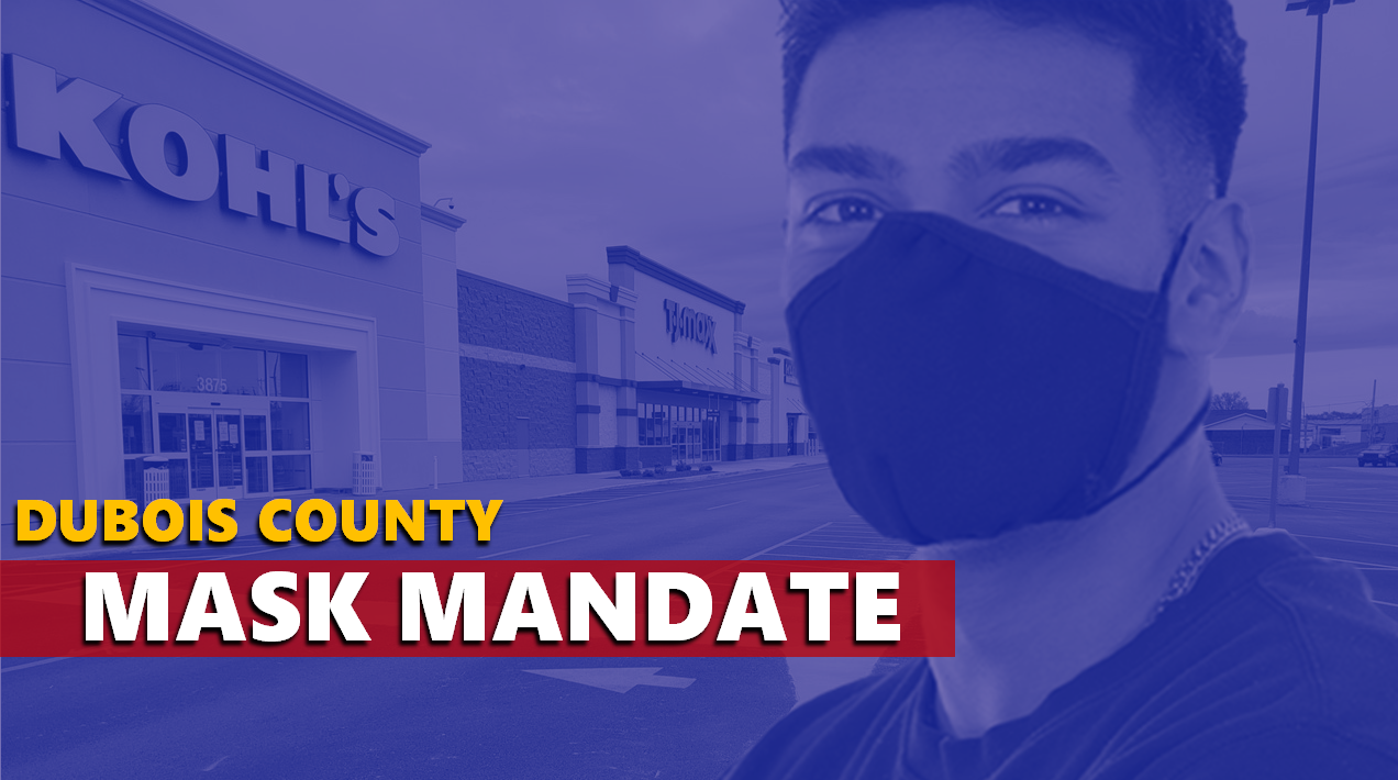 Dubois County, State Agencies Now Enforcing Mask Mandates, Other COVID-19 Restrictions