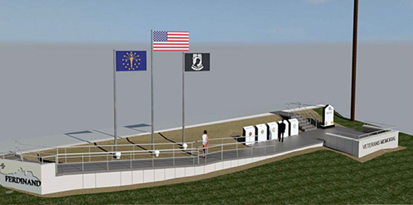 Dedication Ceremony Planned For Ferdinand Veterans Memorial