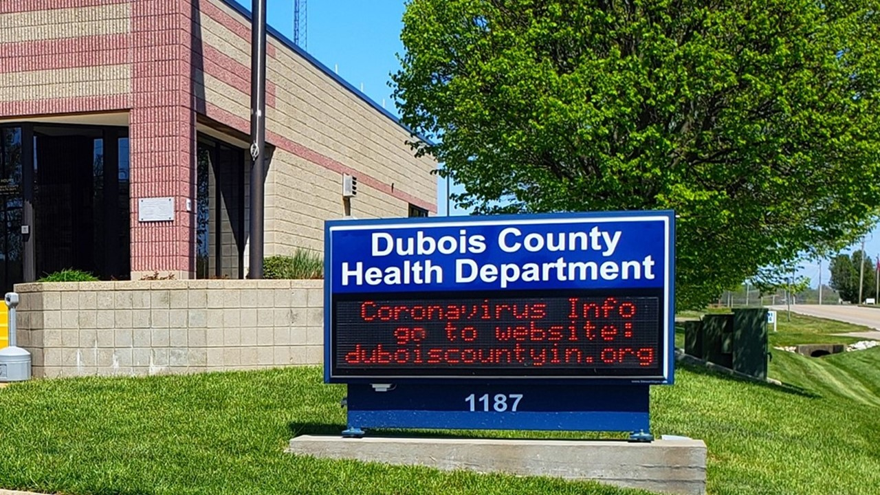 Two New Cases of COVID-19 Reported Thursday, Brings Dubois County Total to 208