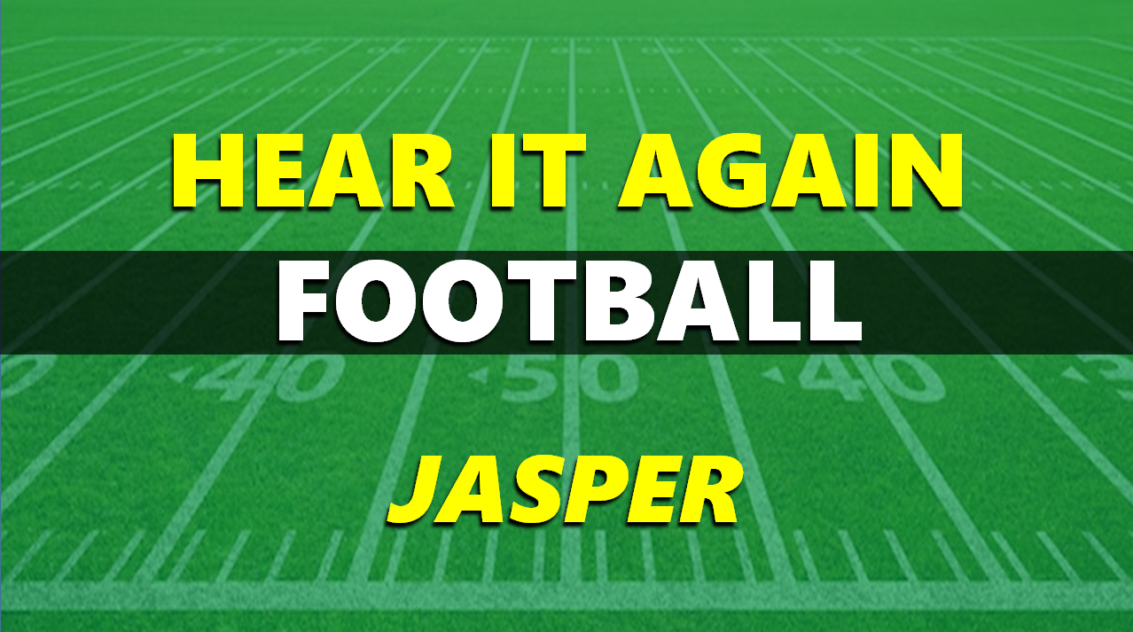 Hear It Again: Jasper Football vs Central 9-25-20