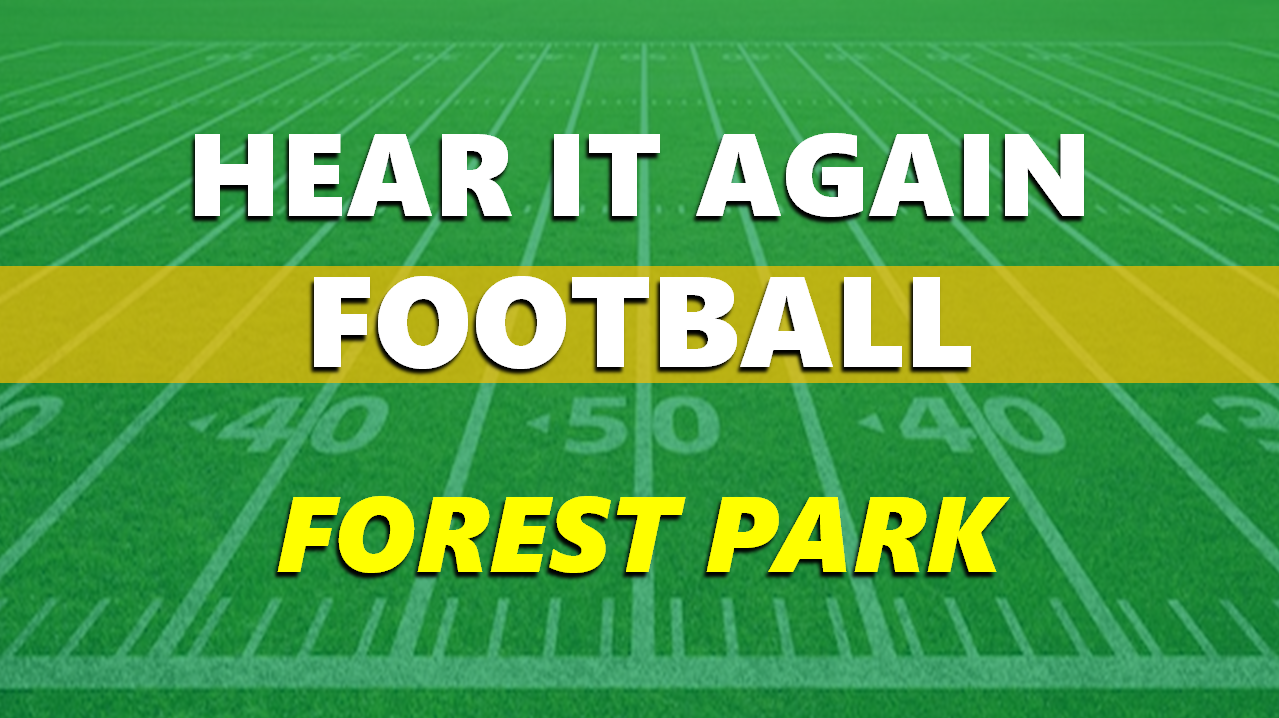 Hear It Again: Forest Park Football Sectional vs North Knox 10/23/20