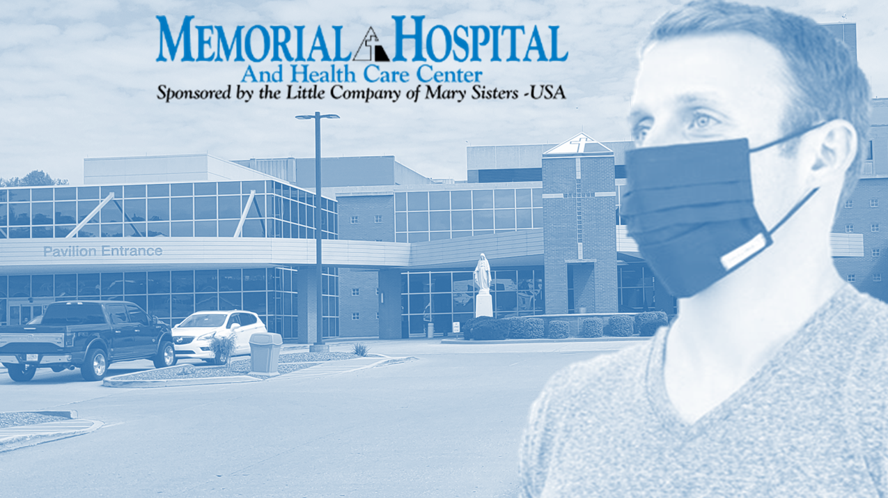 Memorial Hospital and Memorial Clinics Will Now Require Face Masks