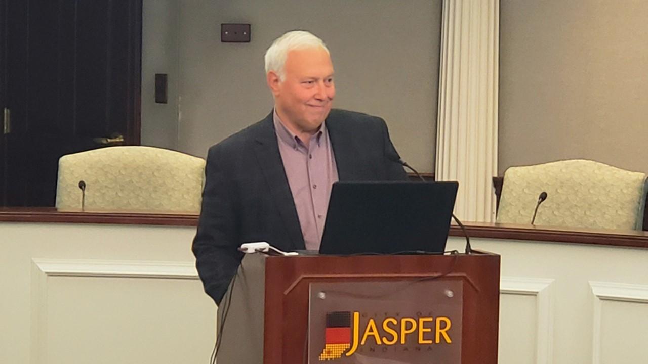 Jasper Mayor Vonderheide on