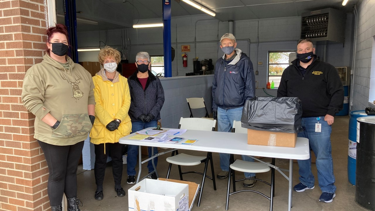 Almost 800 Pounds of Medications Disposed of at Saturday's Collection Day in Dubois County