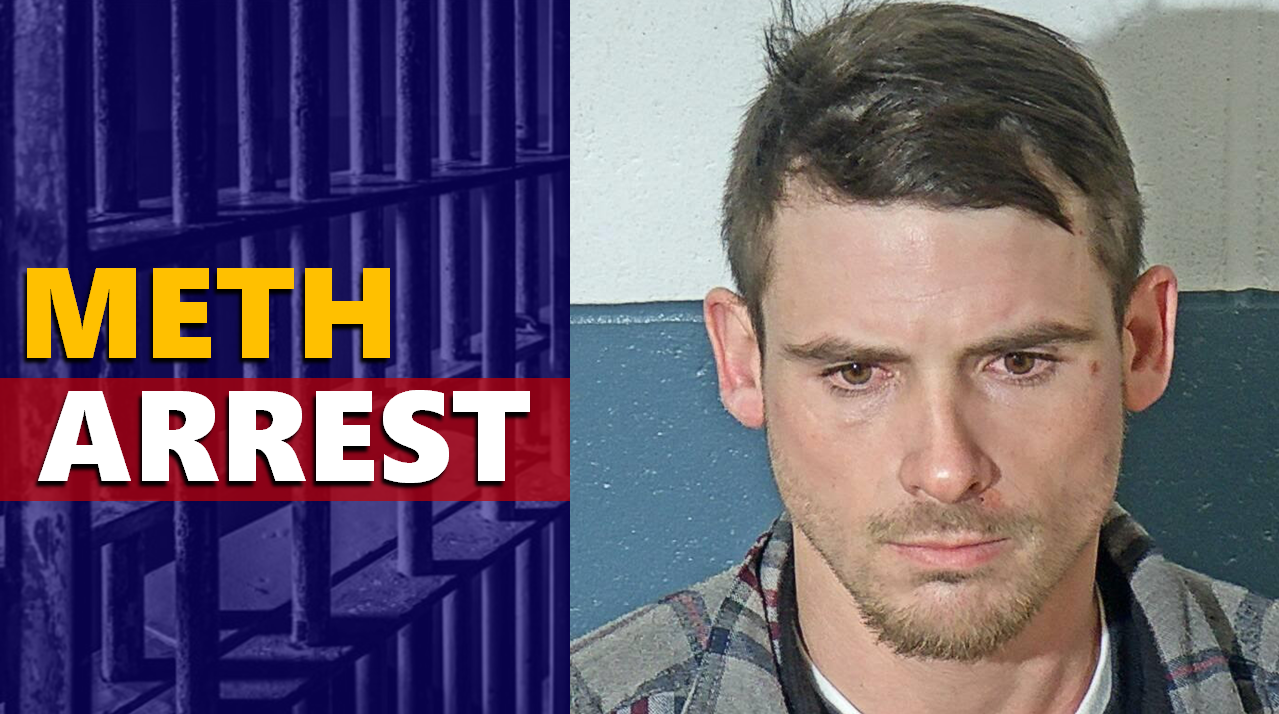 Area Man Arrested on Meth Charges Following Traffic Stop
