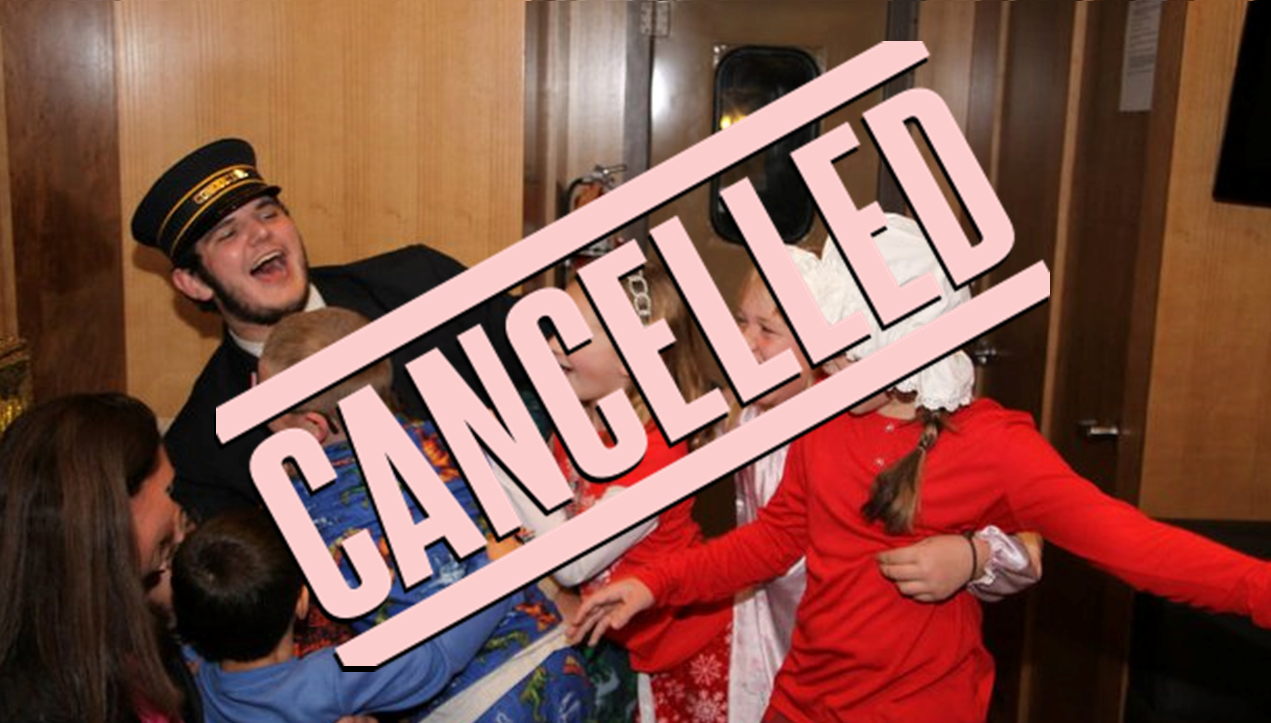 Annual Polar Express Train Ride Cancelled This Year Due to COVID-19