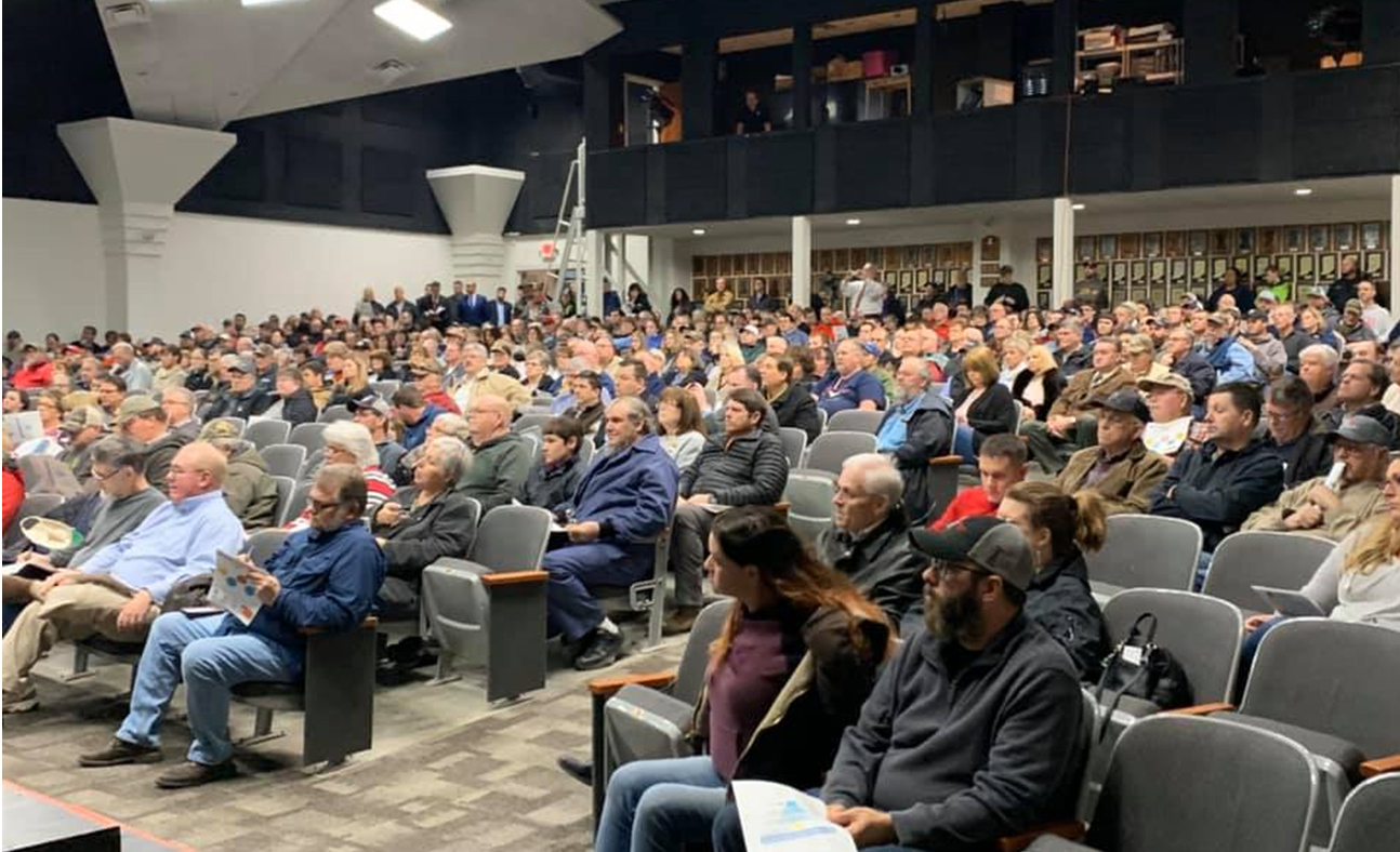 Large Crowd Turns Out For Mid-State's Corridor Meeting in Jasper Thursday Night