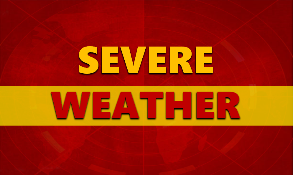 NWS Warns of Severe Weather / Wind Sunday; Be on Alert