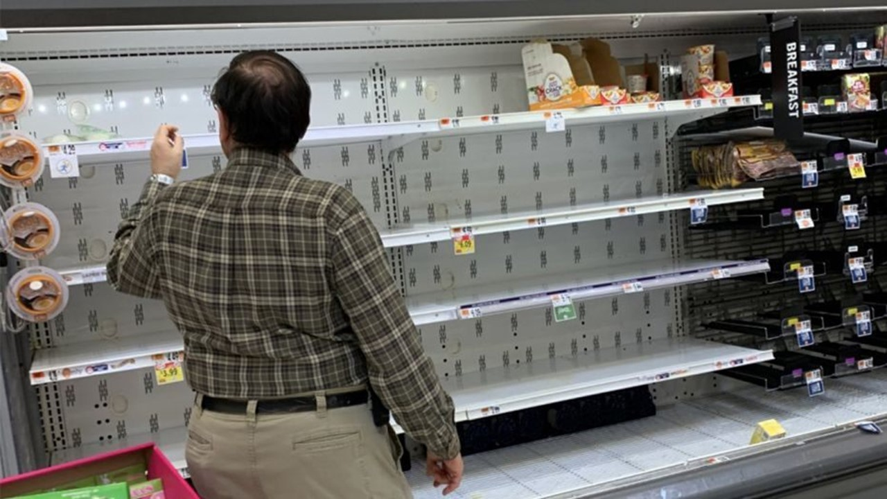 Panic-Shopping Continues Around Dubois County, President Doesn't Think Shortages Will Last Long