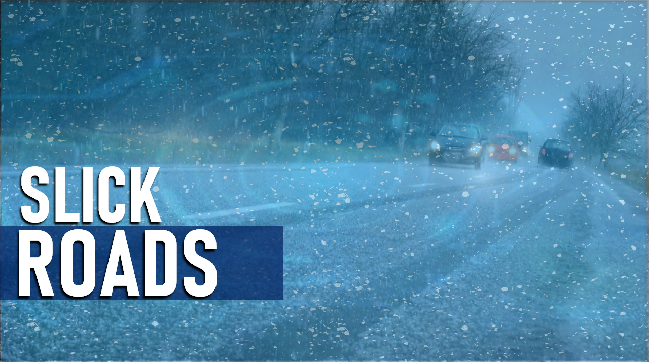 Slick Roads Being Reported, State Police Offer Tips For Safe Driving in Winter Conditions
