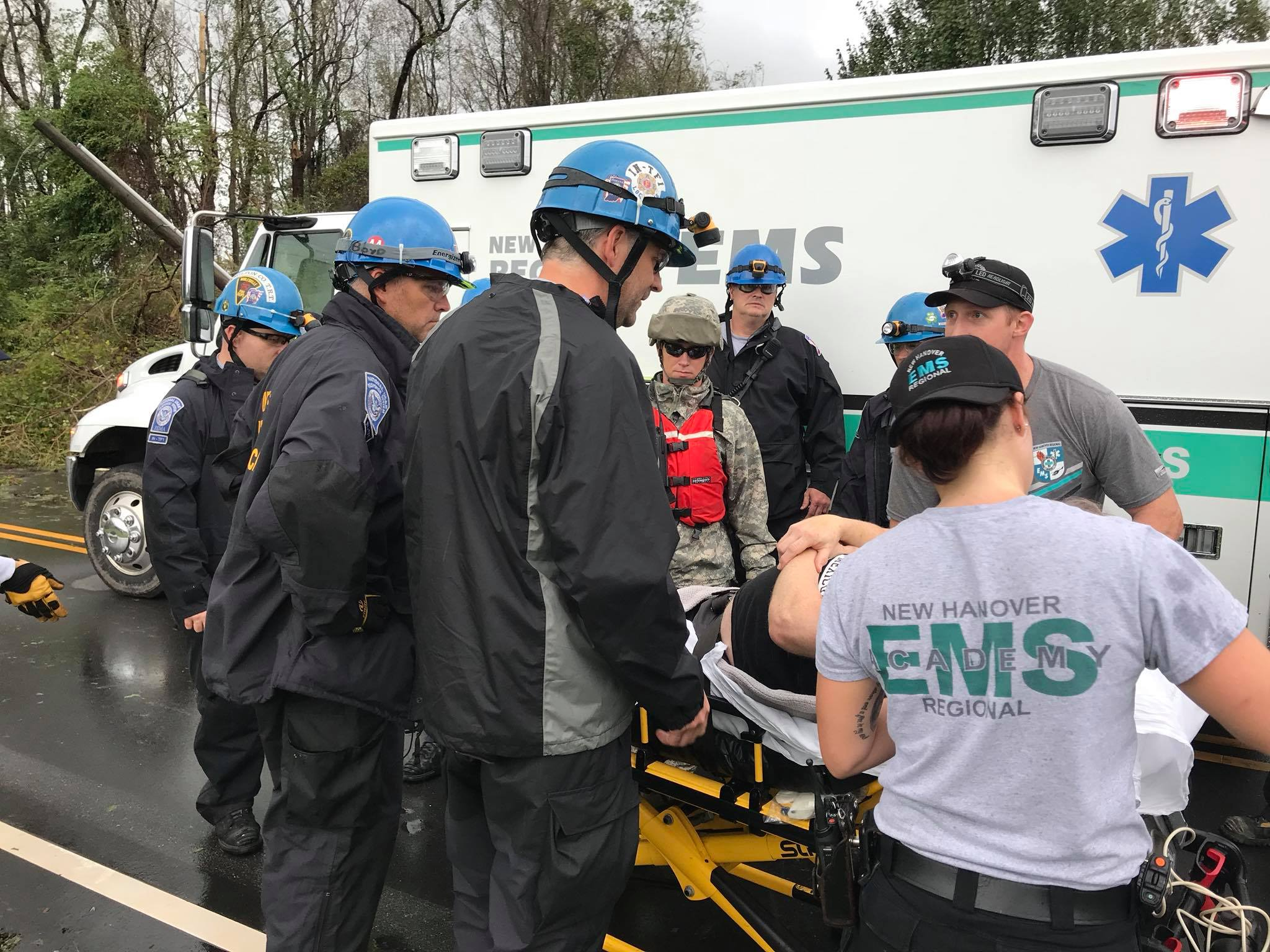 Indiana's Task Force 1 Rescues Over 100 People In Hurricane-Ravaged North Carolina
