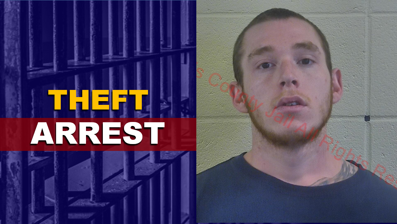 Jasper Man Accused of Stealing From 36th Street Home, Facing Felony Theft Charge