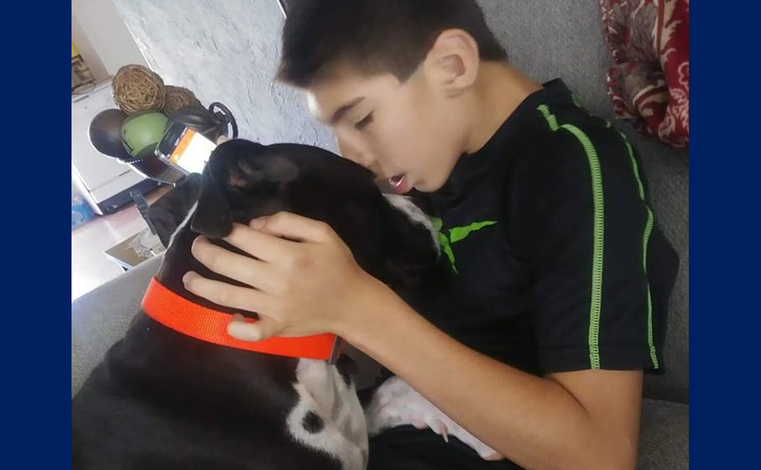 Ferdinand Family Asking For Help Finding  Son's Missing Therapy Dog