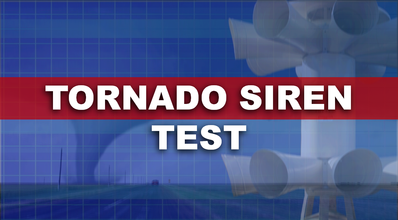 Local Officials Remind Residents of Monthly Tornado Siren Test This Afternoon