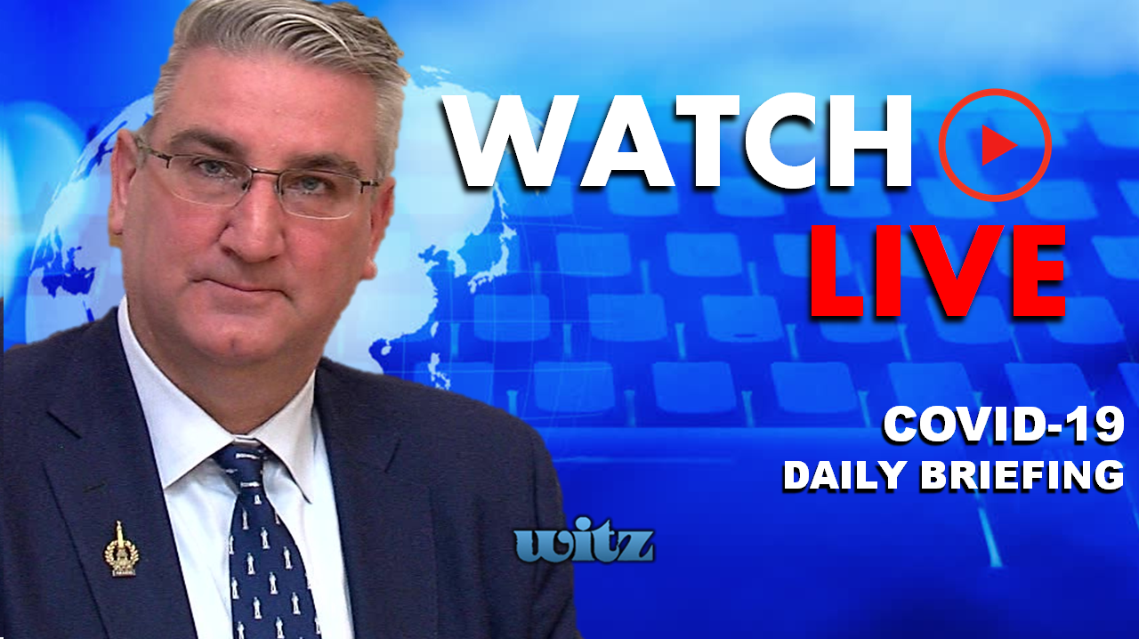 WATCH LIVE: Governor Holcomb Updates Hoosiers on COVID-19 From the Statehouse