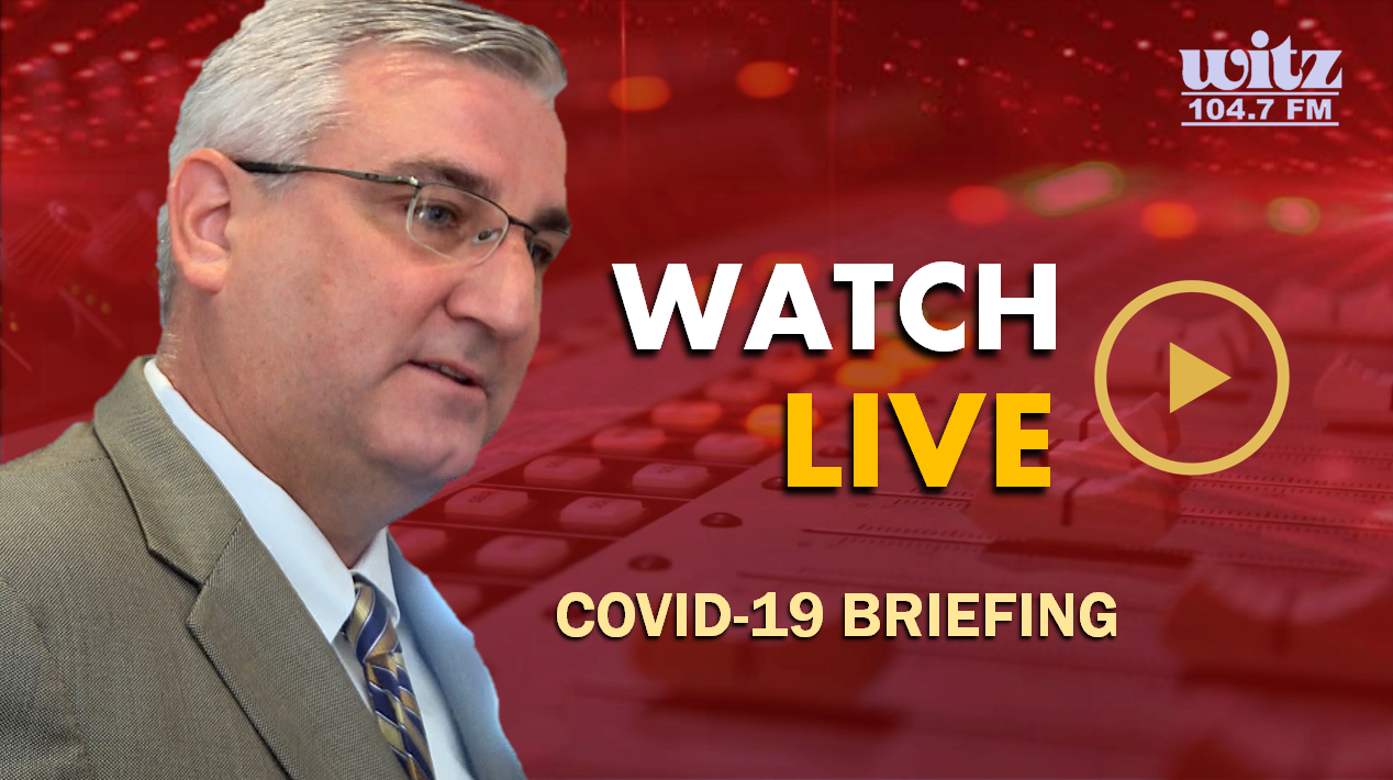 WATCH LIVE: Indiana Governor Eric Holcomb to Address the State at 2:30 P.M. on COVID-19