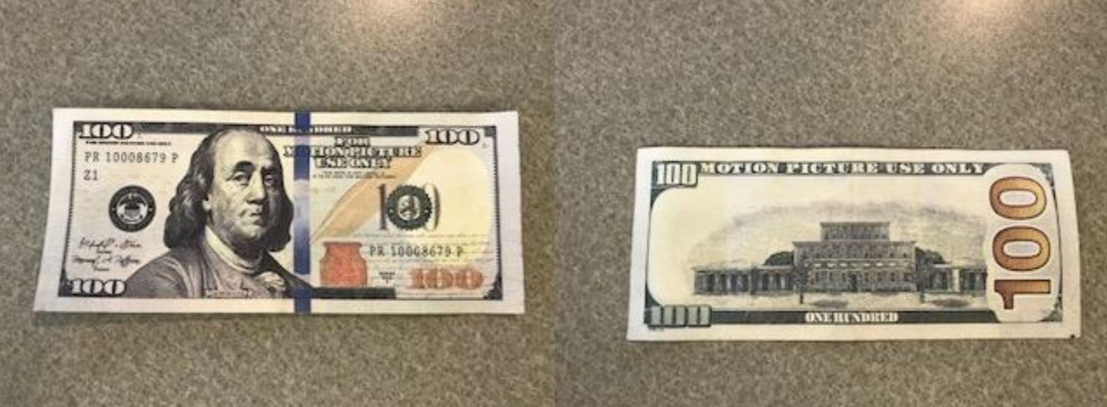 ALERT:  JPD Warns of Fake Money Being Passed Through Community