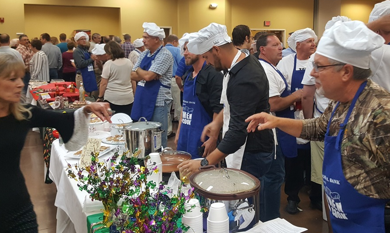 Dubois County CASA Provides Update on Funds Raised at Most Recent 100 Men Who Cook Event