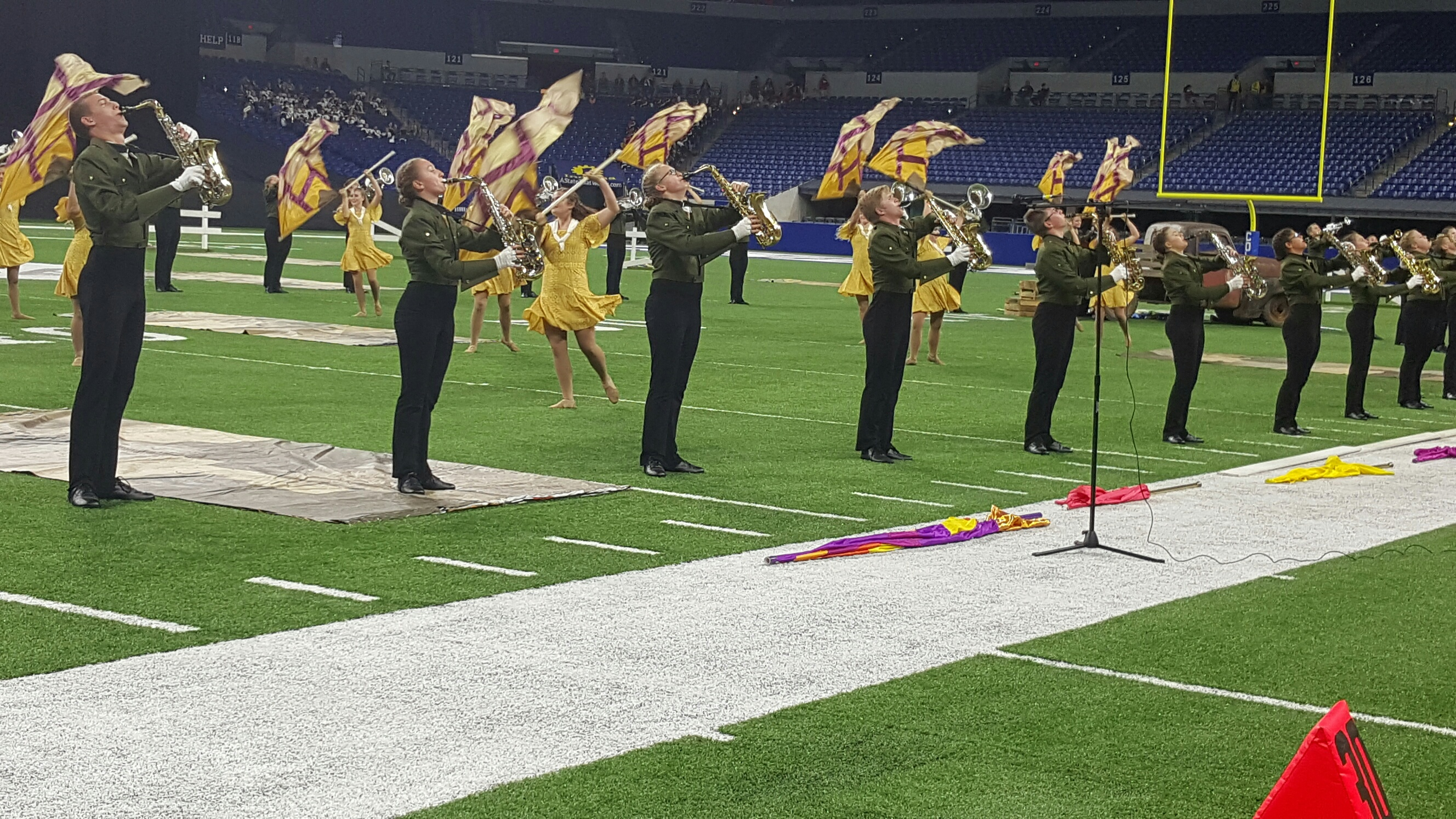 Forest Park Marching Rangers Take Home State Title in Indianapolis Saturday