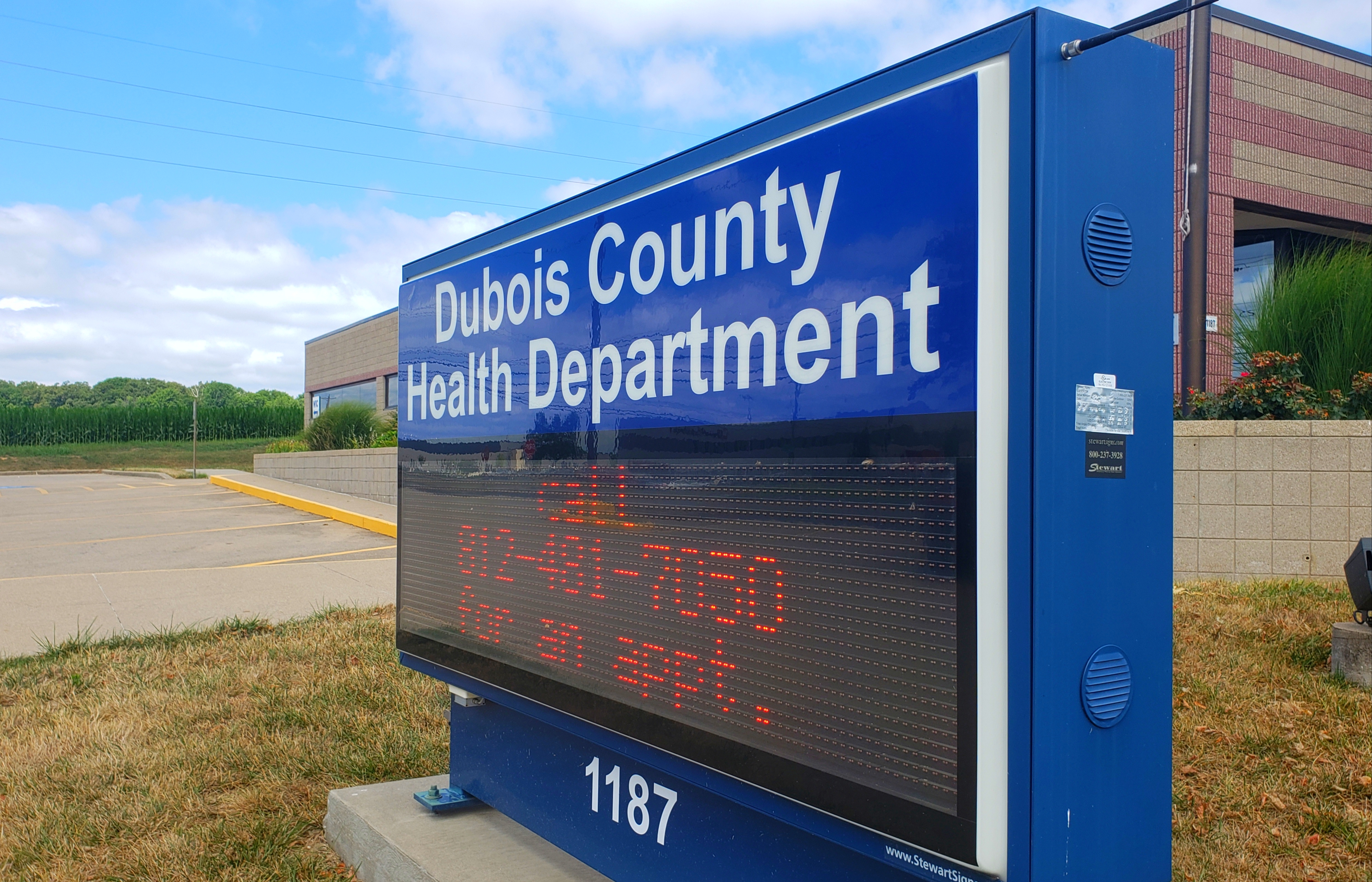 Dubois County Becomes