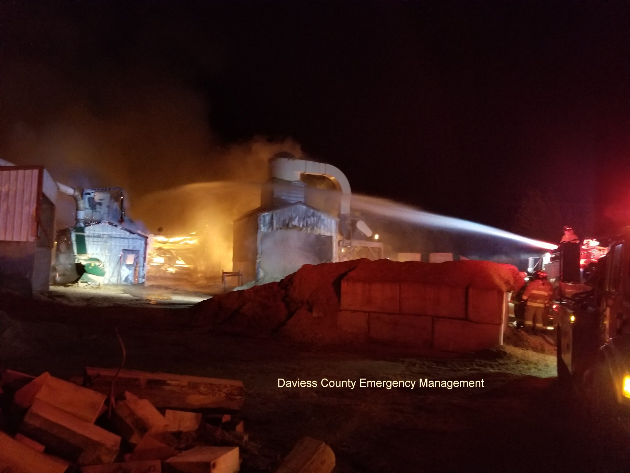 Overnight Business Fire Under Control, Building Destroyed