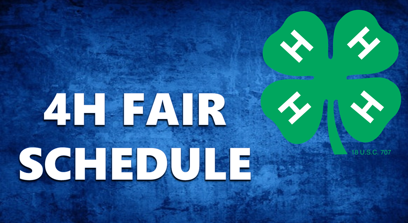 Dubois County 4H Fair Schedule