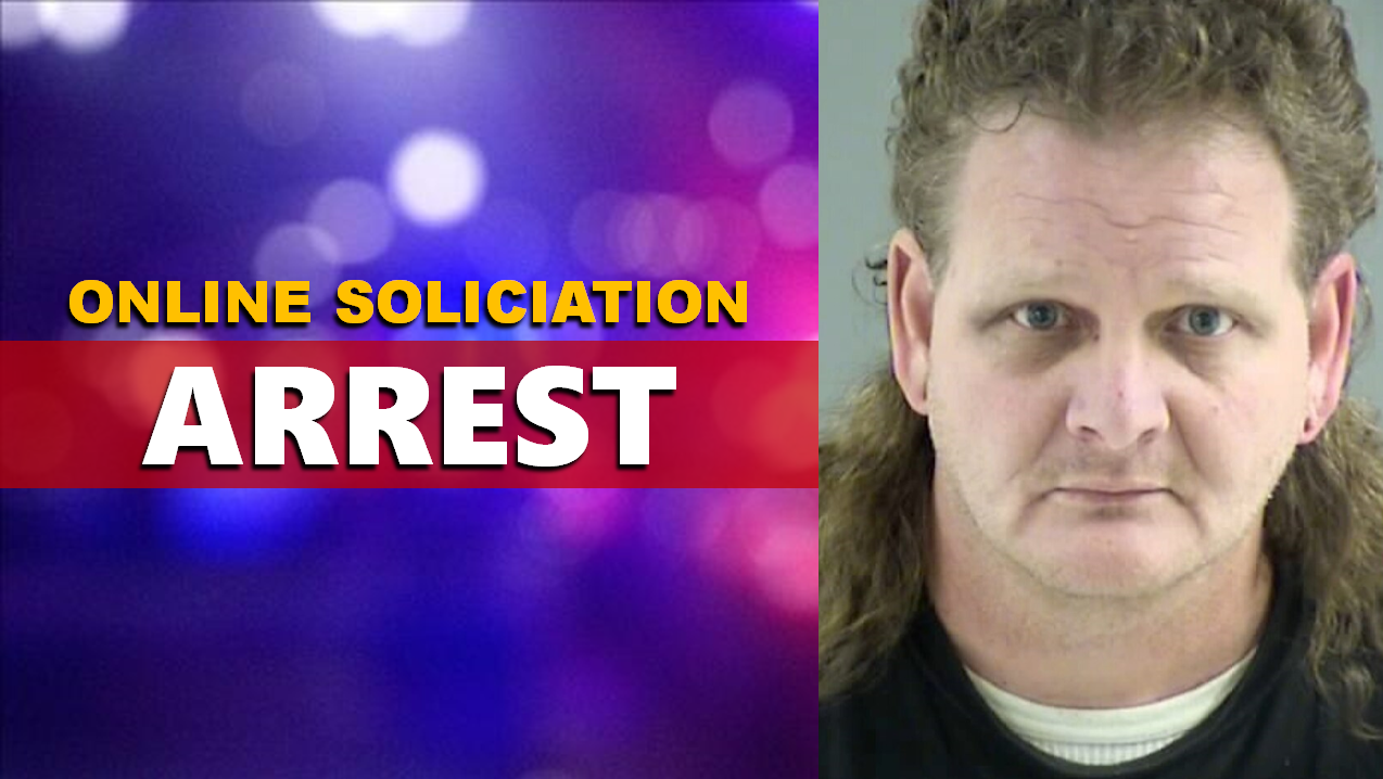 Area Man Arrested For Soliciting Undercover Officer He Thought to be a 13 Year-Old-Girl