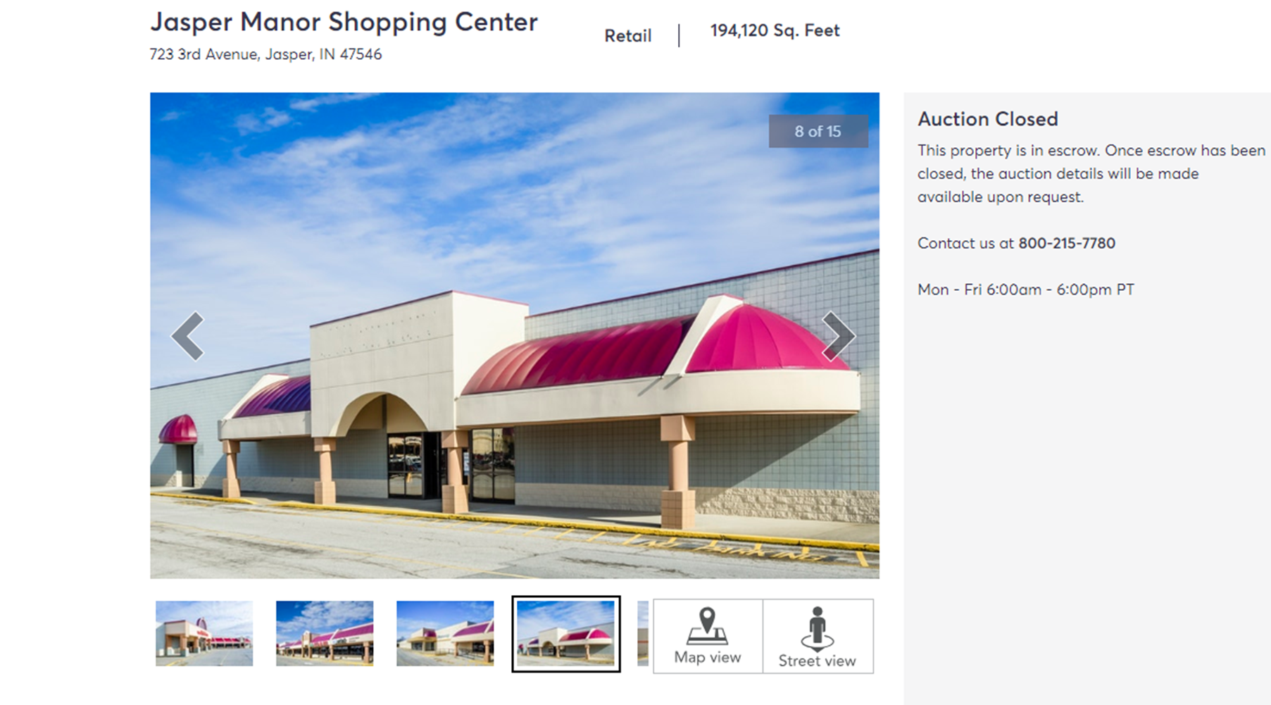 DEVELOPING:  Jasper Manor Shopping Center Has Been Auctioned for $1.8 Million Online