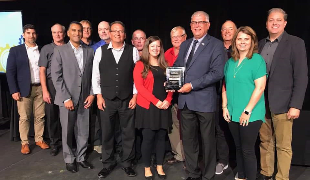Huntingburg's Market Street Park Receives Placemaking Award During AIM Ideas Summit