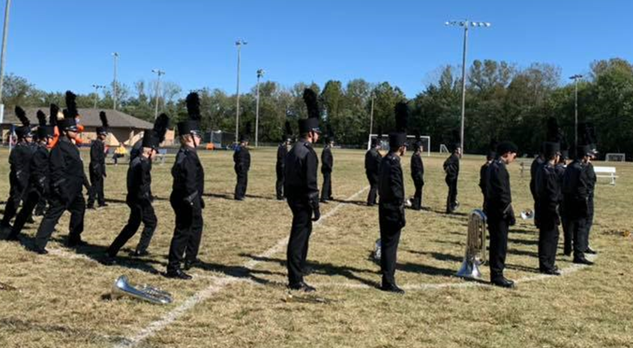 Dubois County Marching Bands Earn Gold Ratings Over the Weekend at Jasper Invitational