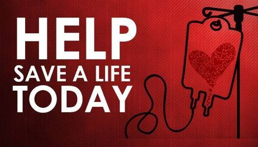 Critical Blood Shortage, Blood Drive Today in Jasper