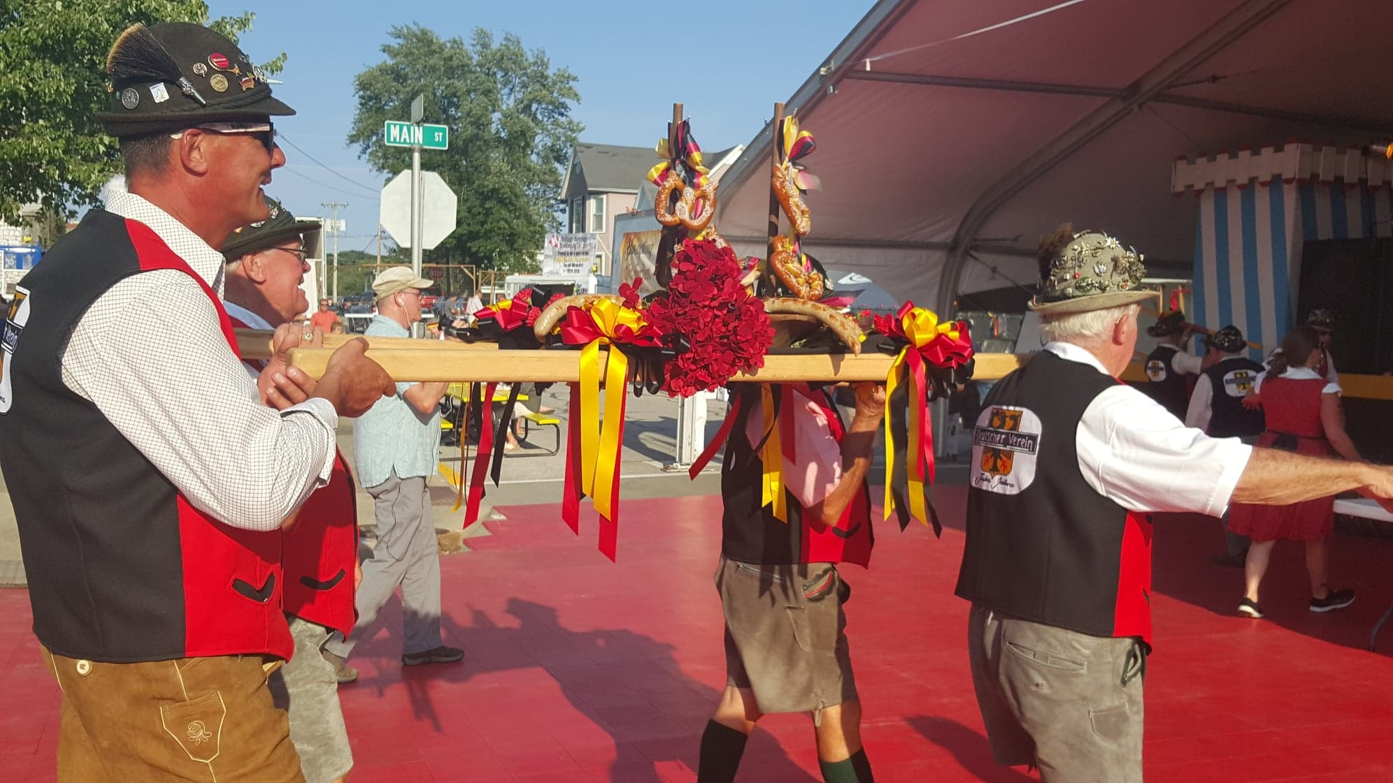 Strassenfest Kicks Off 40th Year With Opening Ceremonies Thursday Night