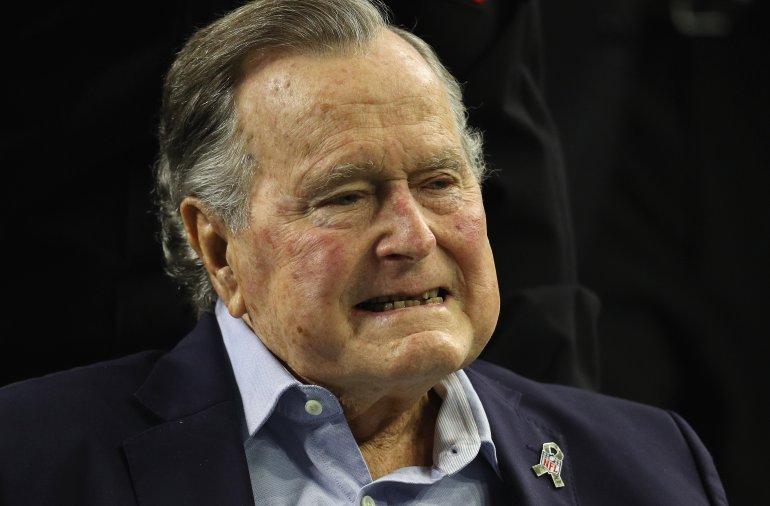 BREAKING:   Former President George H.W. Bush Hospitalized