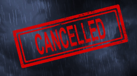 Three Inches of Rain Forces Cancellation of the Creek Sweep Planned For Saturday