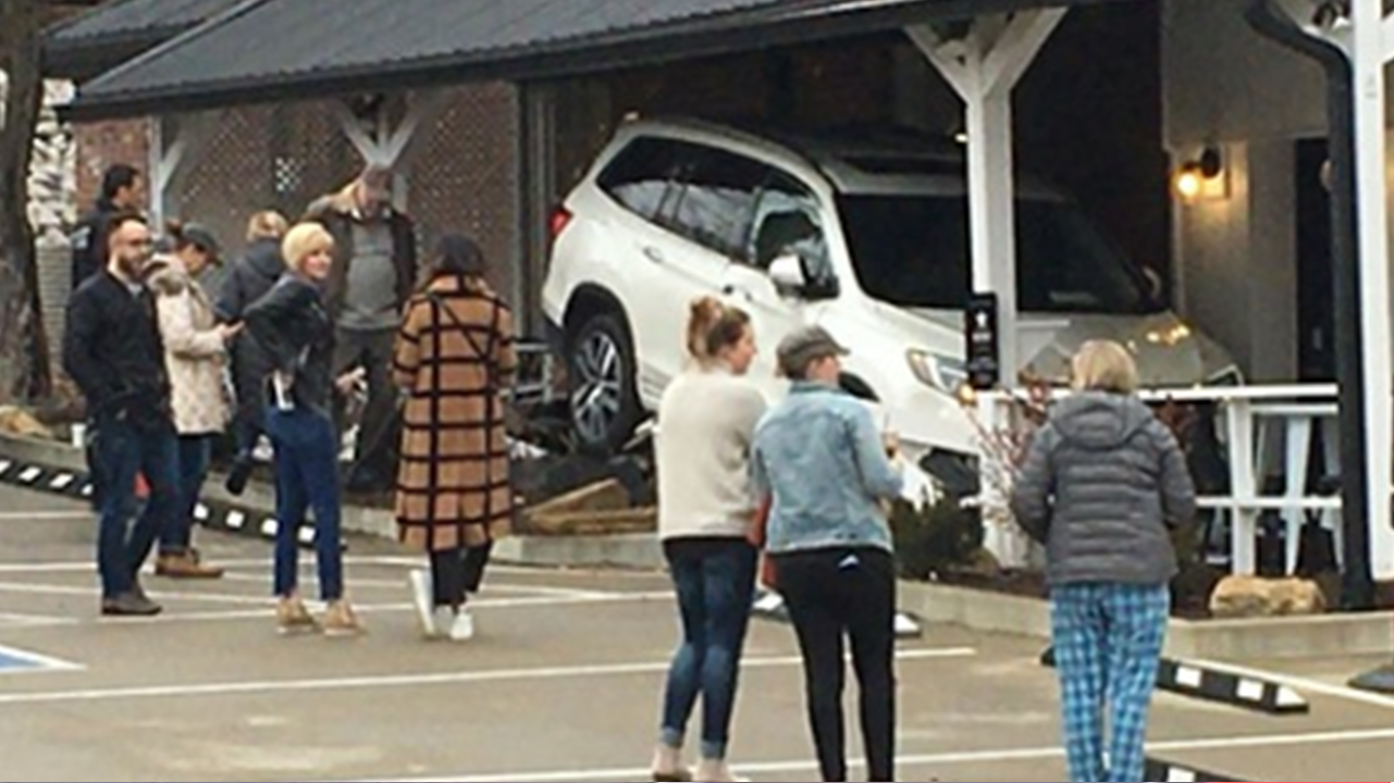 Car Slams into Historic Building, No One Hurt But Shop Sustained Damage