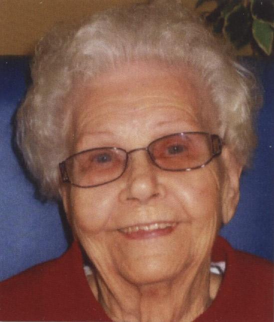 Carolyn Matilda Sophia Kamman, age 97, of Zoar