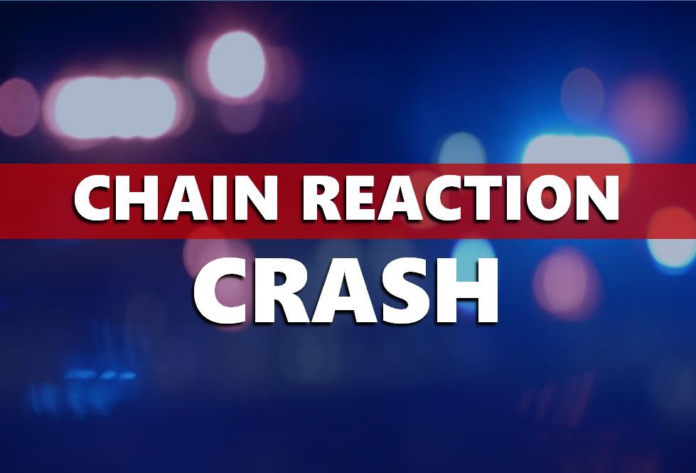 Chain Reaction Crash Sends One to the Hospital, Driver Cited For No Insurance