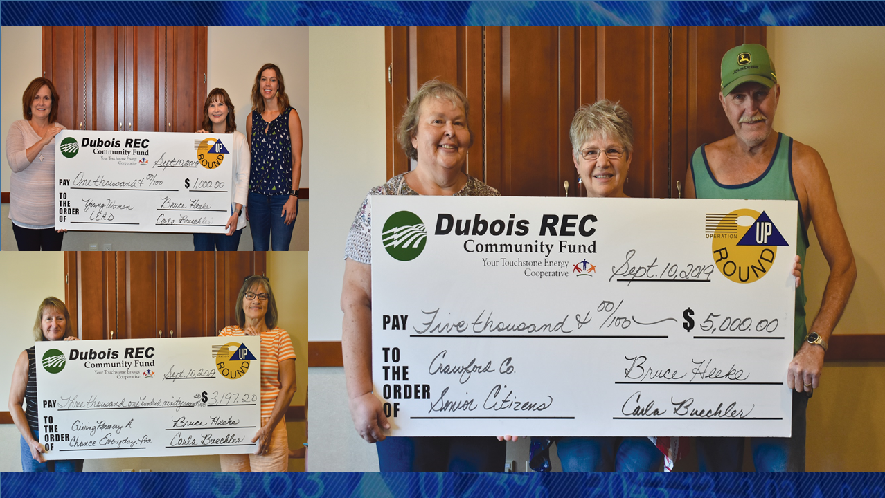 Local Groups Receive Over $9,000 in Operation Round Up Grants