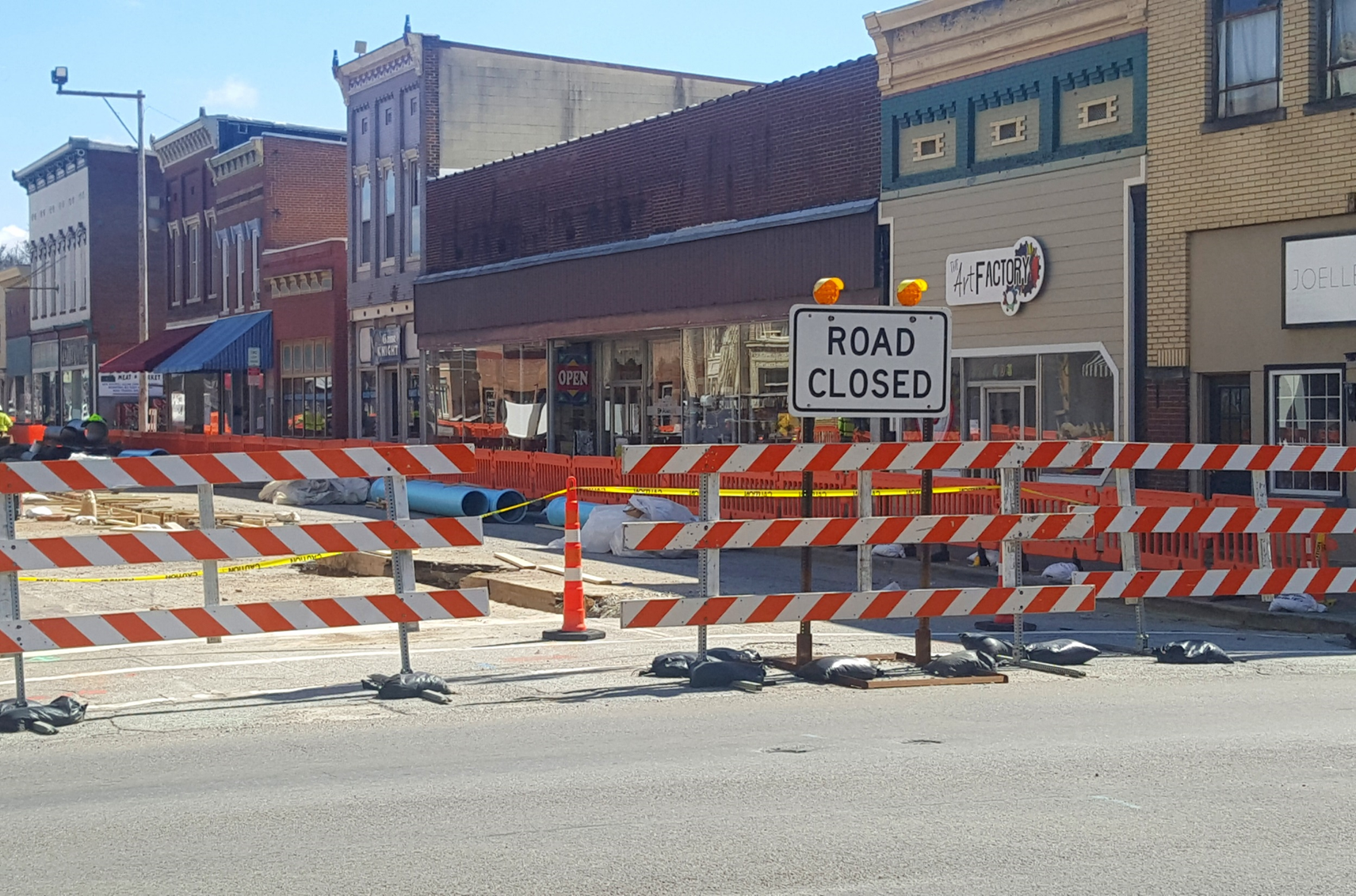 Huntingburg Chamber Urges Residents to Shop Fourth Street Businesses Despite Construction