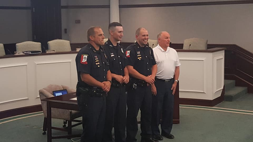 New JPD Officer Sworn In Wednesday
