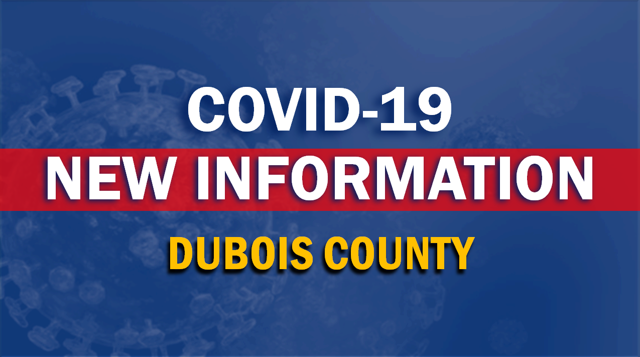 Dubois County Officials Report 25 New Cases of COVID-19 Tuesday Morning