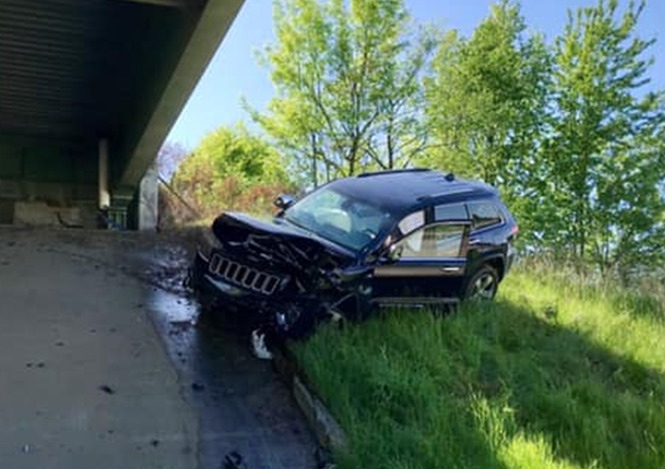 Sunday Police Chase Began  In Perry County, Ended in Crash on I 69