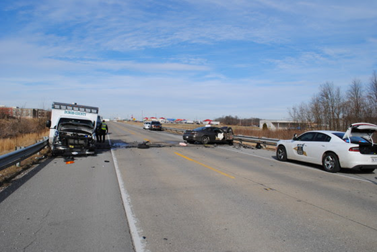 Jasper Man Airlifted After Hitting Ambulance Head-On on US 231 Friday Afternoon