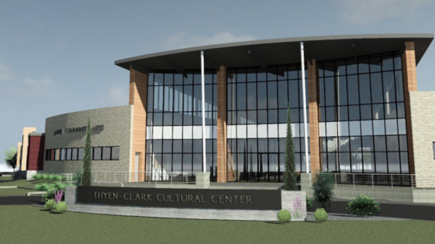 Groundbreaking to be Held This Evening on New Thyen-Clark Cultural Center in Jasper